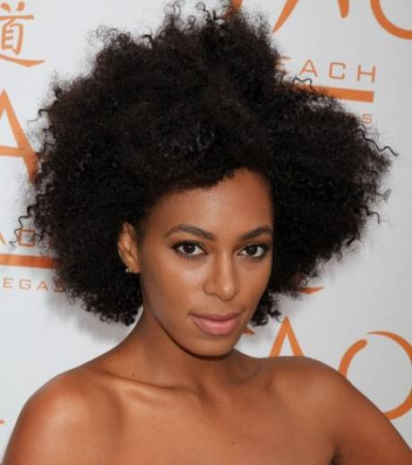 Solange Knowles Natural Hair Journey